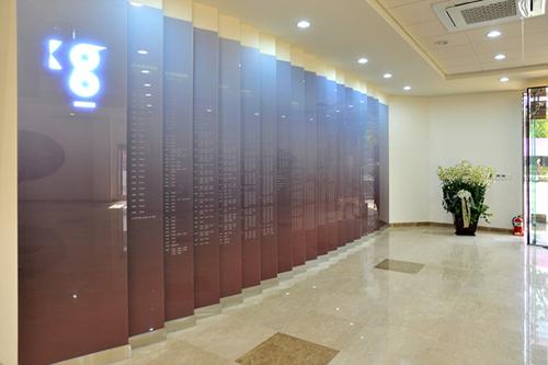 1층 로비 도내이션 월