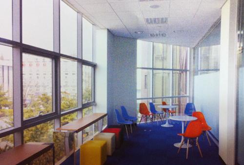 3층 전자도서관 휴게실